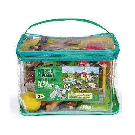Animal Planet Mother & Baby Farm Playset Set