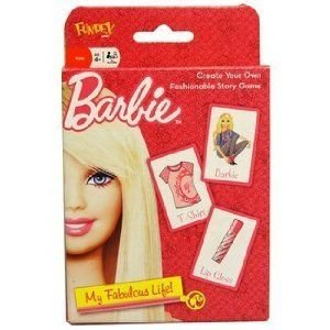 Fundex 33420-12 Barbie(バービー) My Fabulous Life Story Card Game - Case of 12 ドール 人形 フィギ