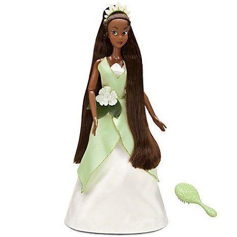 Disney (ディズニー)Singing Tiana Doll -- 17'' H ドール 人形 フィギュア
