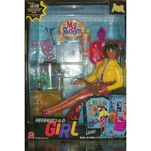 Generation Girl My Room Ana by Mattel (マテル社) - Look! Walls, Furniture, Expanding Room - It's A