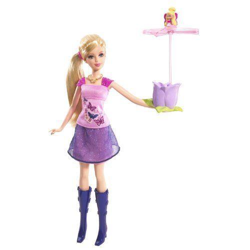 Mattel- P6314-0, Barbie バービー With Flying Thumbelina 人形 ドール