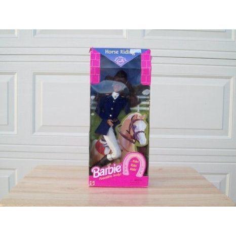 Horse Riding Barbie(バービー) ドール 人形 フィギュア