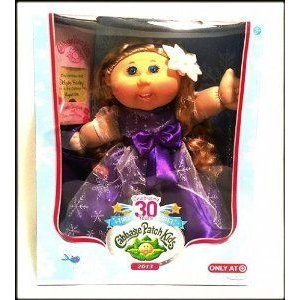 Cabbage Patch Kids (キャベツパッチキッズ) 30th Anniversary Holiday Caucasian Girl with Blonde Hair