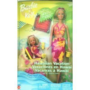 Barbie(バービー) & Kelly Hawaiian Vacation Gift Set ドール 人形 フィギュア