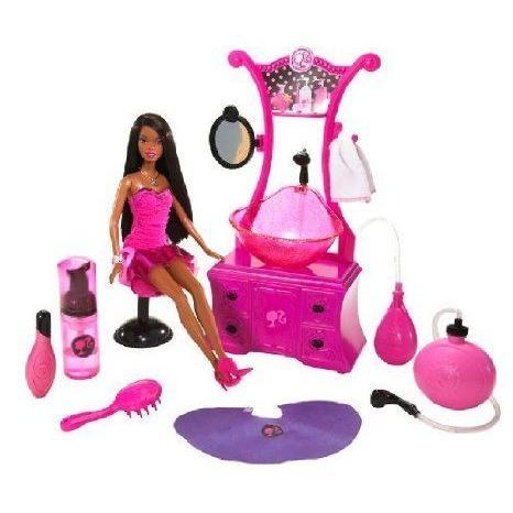 Barbie(バービー) Style Salon Nikki Playset ドール 人形 フィギュア