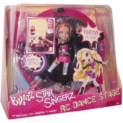 Bratz (ブラッツ) Star Singerz RC Dance Stage and Fiana Doll ドール 人形 フィギュア