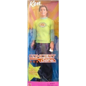 Barbie(バービー) KEN Concert Date Doll (2001) ドール 人形 フィギュア