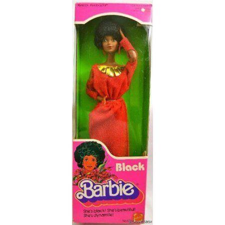 黒 Barbie(バービー) 1979 ドール 人形 フィギュア
