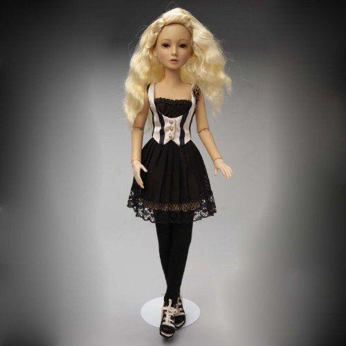 Ashton Drake アシュトンドレイク Delilah 黒 Vintage Doll Outfit 人形 ドール