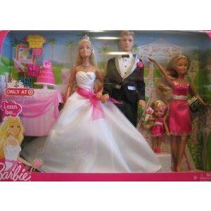 Barbie(バービー) I Can Be a Bride Wedding Set ドール 人形 フィギュア