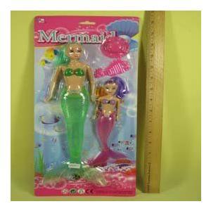 MERMAIDS SET, Case Pack of 72 ドール 人形 フィギュア