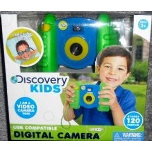 Discovery Kids USB Compatible Digital Camera おもちゃ