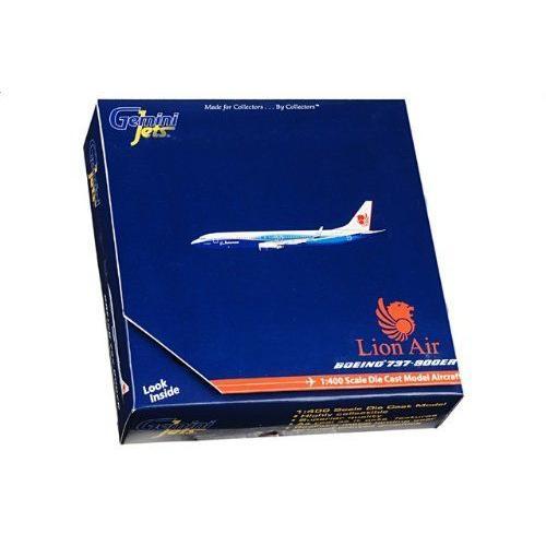 1:400 ジェミニジェット GJLNI635 ボーイング 737-900 ダイキャスト モデル Lion Air
