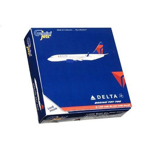1:400 ジェミニジェット GJDAL883 ボーイング 737-700 ダイキャスト モデル デルタ Air Lines