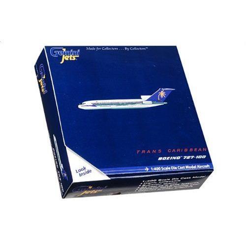 1:400 ジェミニジェット GJTCA046 ボーイング 727-100 ダイキャスト モデル Transcaribbean