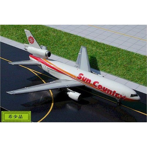 1:400 ジェミニジェット GJSCX240 マクドネル ダグラス DC-10-15 ダイキャスト モデル Sun Country