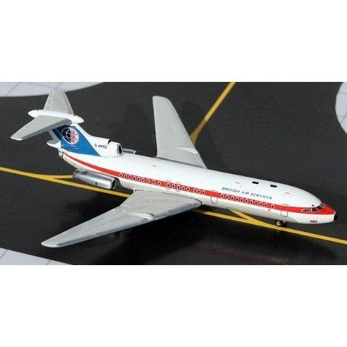 1: 400 ジェミニジェット BKS Air Transport Hawker Siddeley Trident 1E