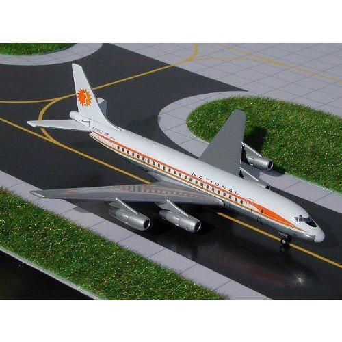 1: 400 ジェミニジェット National 航空 DC-8-50 Sun King