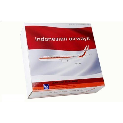 1:200 アビエーション 200 BBOX738JAK ボーイング 737-800 ダイキャスト モデル Garuda Indonesia PK-GFN