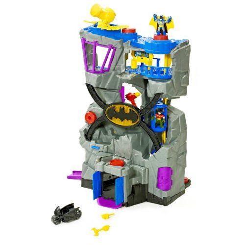 フィッシャープライス Imaginext DCスーパーアクション バットマンの秘密基地