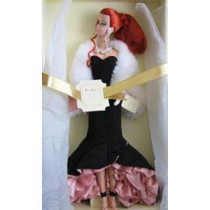Silkstone The Siren Barbie(バービー) Doll ゴールド Label Fashion Model Collection (2007) ドール 人形