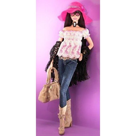 Barbie(バービー) Designer Collecton ゴールド Label - Anna Sui Boho Barbie(バービー) Doll ドール 人形