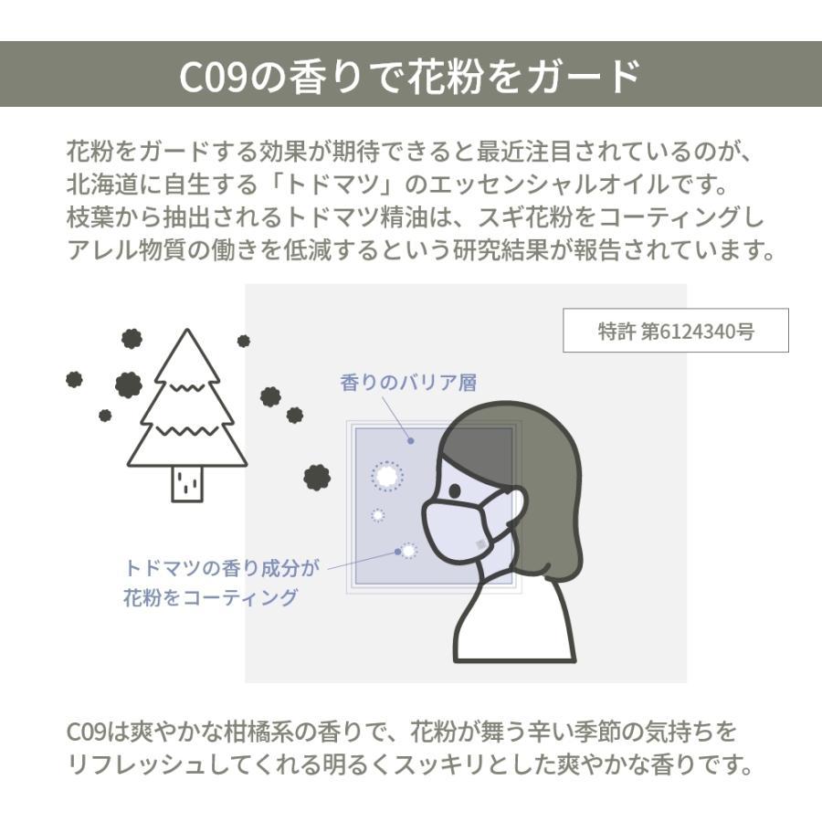アットアロマ マスク用アロマシール30枚入 C10 CLEAR TEA TREE  クリアティートリー @aroma aroma sticker in-store 07