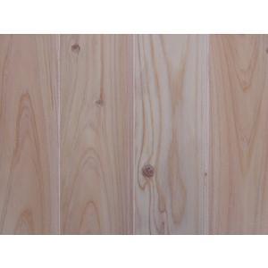スーパー桧無垢羽目板 上小節 クリアー塗装 1900×12×87ミリ