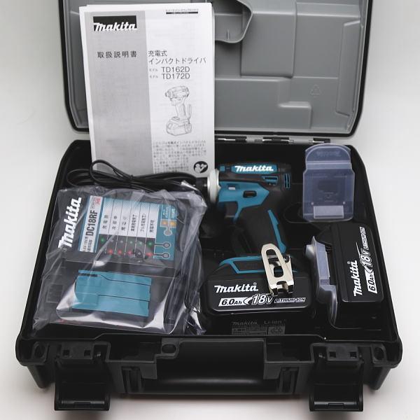 new! マキタ 純正品フルセット TD172DRGX 充電式インパクトドライバ ブルー/マキタカラー 18V 6.0Ah Makita|inage78|03