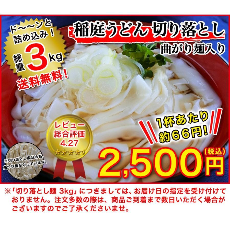 送料無料 稲庭うどん 切り落とし麺3kg(曲がり麺入り) 乾麺 /長期保管可能・巣ごもりに|inaniwa-udon