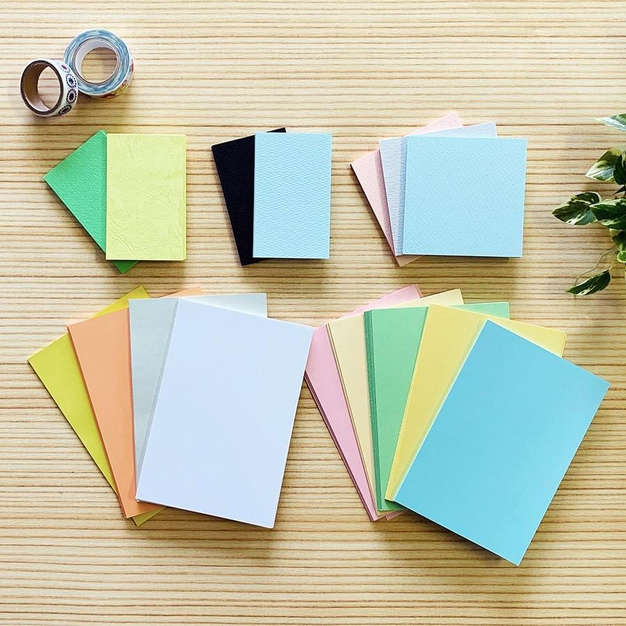 カード詰め合わせ(200枚程度入 1セット)|様々な大きさのカードを詰め合わせたお得なセット|inasatukurashi