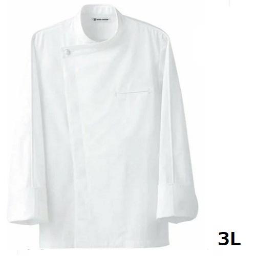 ドレスコックコート(男女兼用)BA1044-0 ホワイト 3L 【業務用】【同梱グループA】