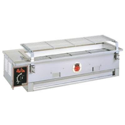 炭火焼物器 シルクルーム 炭焼台 赤鬼太郎II S-910 13A /送料無料 幅900×奥行330×高さ224(+60)