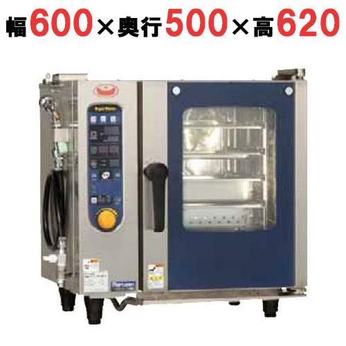 【業務用/新品】【スチコン】【マルゼン】電気式スチームコンベクションオーブン  シンプル SSCS-04MD (50/60Hz)【送料無料】