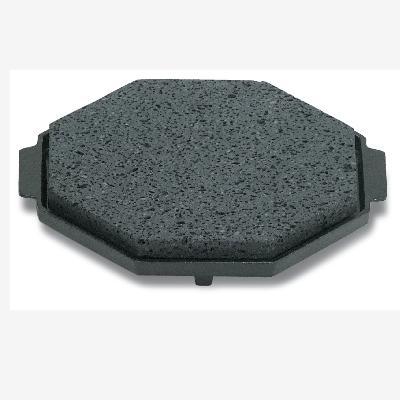 石焼プレート 石八角 ST-888S/255×255×18/業務用/新品