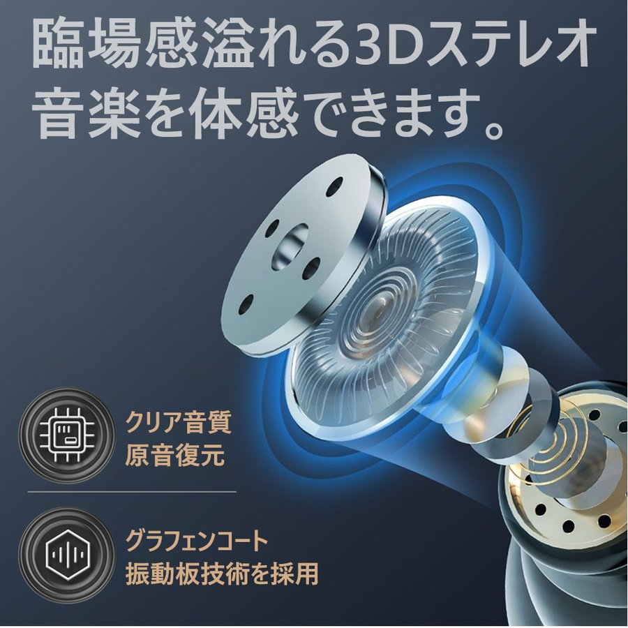 ワイヤレスイヤホン Bluetooth 5.0 120時間待ち受け PS3 ブルートゥース 高音質 長時間通話|incng|05