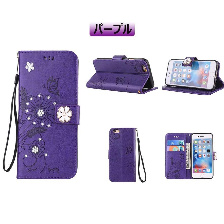 スマホケース 携帯ケース  iPhone6s iPhone7 iPhone 8 Plus ケース 手帳型 花柄 iPhone 11 X XR Xs Max SE2ケース  アイフォン6s Plus キラキラ 可愛い initial-k 14