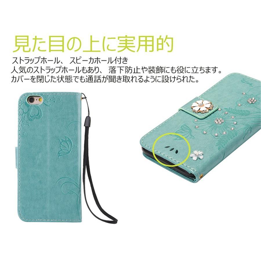 スマホケース 携帯ケース  iPhone6s iPhone7 iPhone 8 Plus ケース 手帳型 花柄 iPhone 11 X XR Xs Max SE2ケース  アイフォン6s Plus キラキラ 可愛い initial-k 05