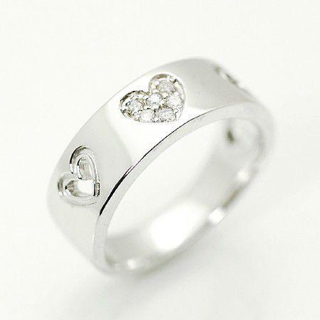 全ての アムール/K18 リング(ピンキー リング) ダイヤモンド 18金ホワイトゴールド ギフト プレゼント アムール/K18 ギフト プレゼント, おもちゃのつじせ:67389f69 --- airmodconsu.dominiotemporario.com