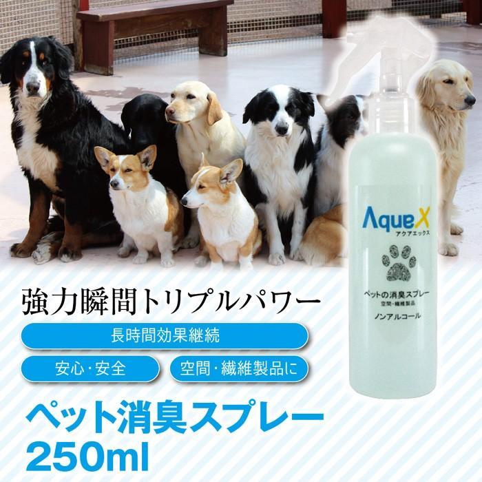 Aqua-X ペット消臭スプレー【250ml】 innocent-coltd-y