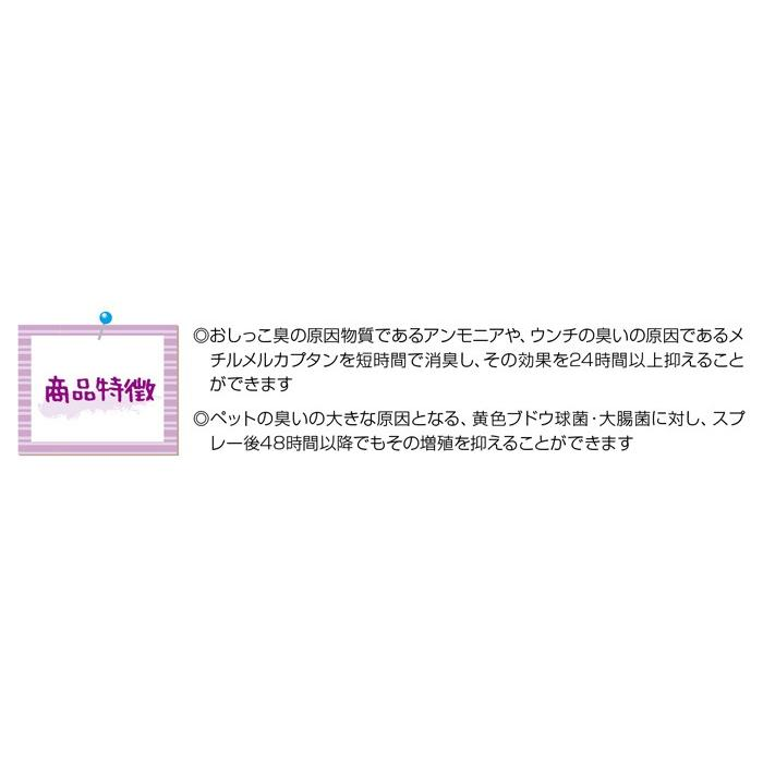 Aqua-X ペットトイレ専用スプレー【250ml】|innocent-coltd-y|02