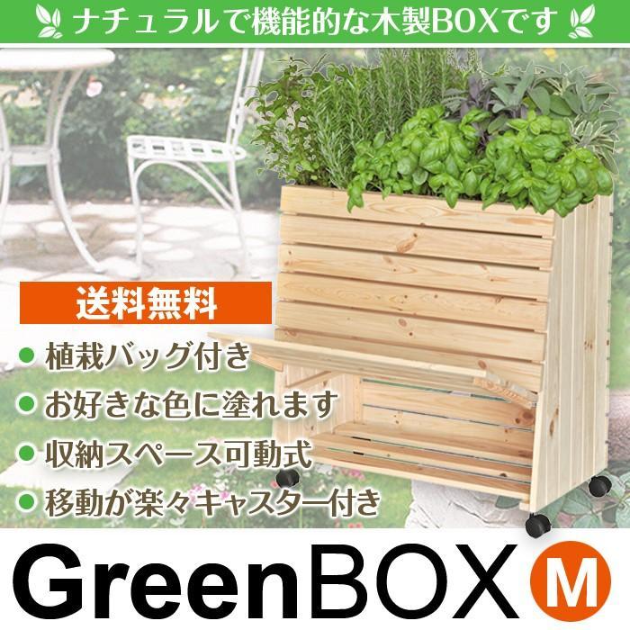 緑BOX M(グリーンボックスM)【WAGNER】【収納棚】【可動式】【屋内】【屋外】【オシャレ】【オリジナル】【木製】【DIY】【送料無料】【ポイント10倍】