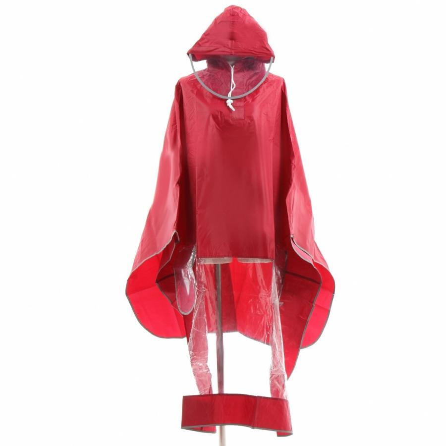 レインコート 自転車ポンチョ 自転車 カッパ 河童 帽子 ハンドル カバー 袖付き 雨 傘 雨具 雨合羽 おしゃれ 防水 レインウェア レディース メンズ innovationfactory247 18