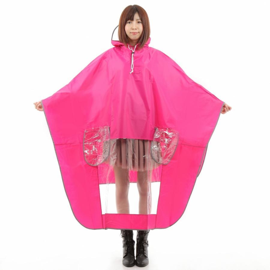 レインコート 自転車ポンチョ 自転車 カッパ 河童 帽子 ハンドル カバー 袖付き 雨 傘 雨具 雨合羽 おしゃれ 防水 レインウェア レディース メンズ innovationfactory247 17