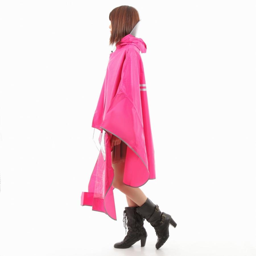 レインコート 自転車ポンチョ 自転車 カッパ 河童 帽子 ハンドル カバー 袖付き 雨 傘 雨具 雨合羽 おしゃれ 防水 レインウェア レディース メンズ innovationfactory247 05