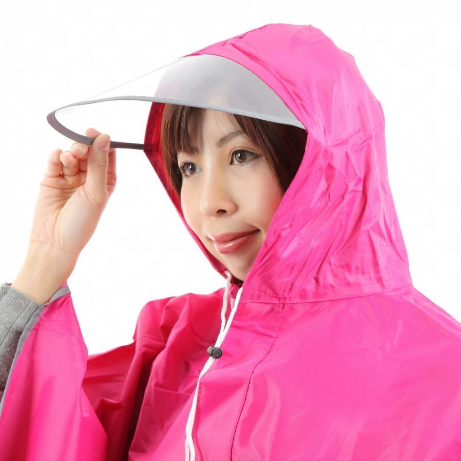 レインコート 自転車ポンチョ 自転車 カッパ 河童 帽子 ハンドル カバー 袖付き 雨 傘 雨具 雨合羽 おしゃれ 防水 レインウェア レディース メンズ innovationfactory247 07
