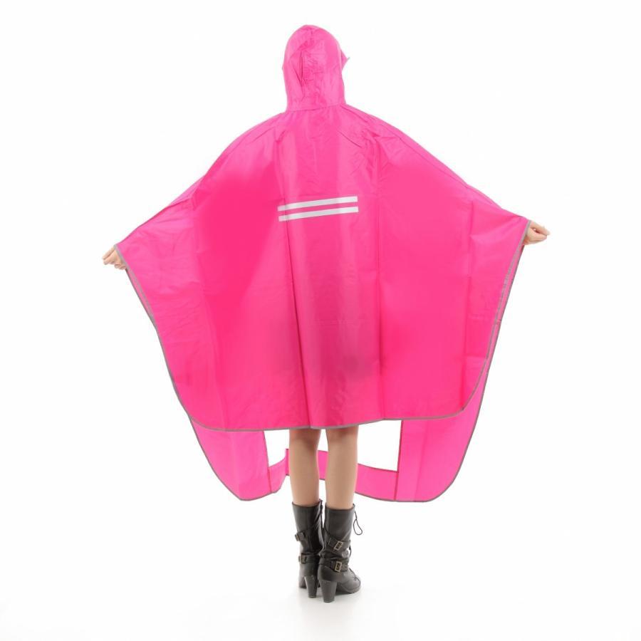 レインコート 自転車ポンチョ 自転車 カッパ 河童 帽子 ハンドル カバー 袖付き 雨 傘 雨具 雨合羽 おしゃれ 防水 レインウェア レディース メンズ innovationfactory247 09