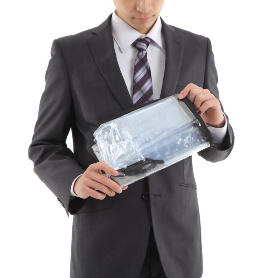 スーツケース スーツカバン レインカバー キャリーバッグ 防水 傷 汚れ 雨 保護 旅行 出張 クリア 透明 ラゲッジ ワゴン ビニール トラベル|innovationfactory247|11
