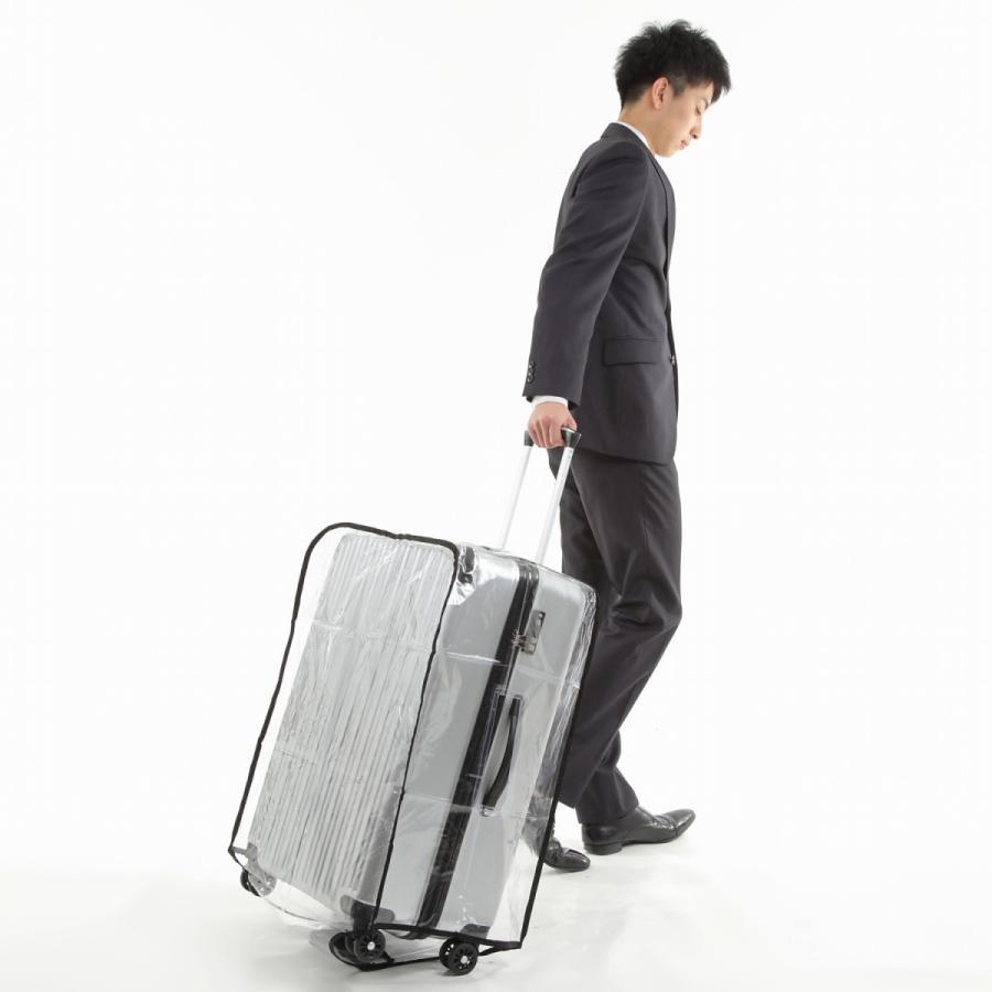 スーツケース スーツカバン レインカバー キャリーバッグ 防水 傷 汚れ 雨 保護 旅行 出張 クリア 透明 ラゲッジ ワゴン ビニール トラベル|innovationfactory247|16