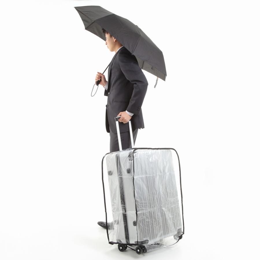 スーツケース スーツカバン レインカバー キャリーバッグ 防水 傷 汚れ 雨 保護 旅行 出張 クリア 透明 ラゲッジ ワゴン ビニール トラベル|innovationfactory247|18